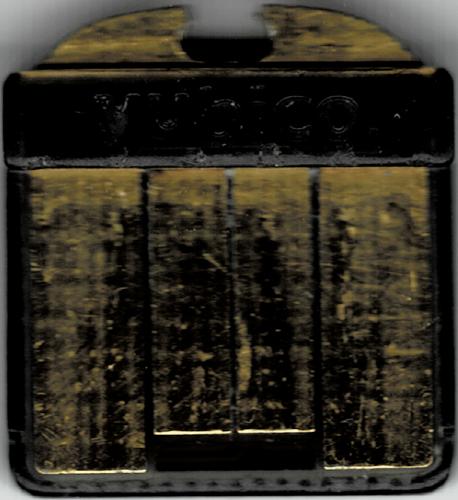 Top side of the Yubikey 4 nano